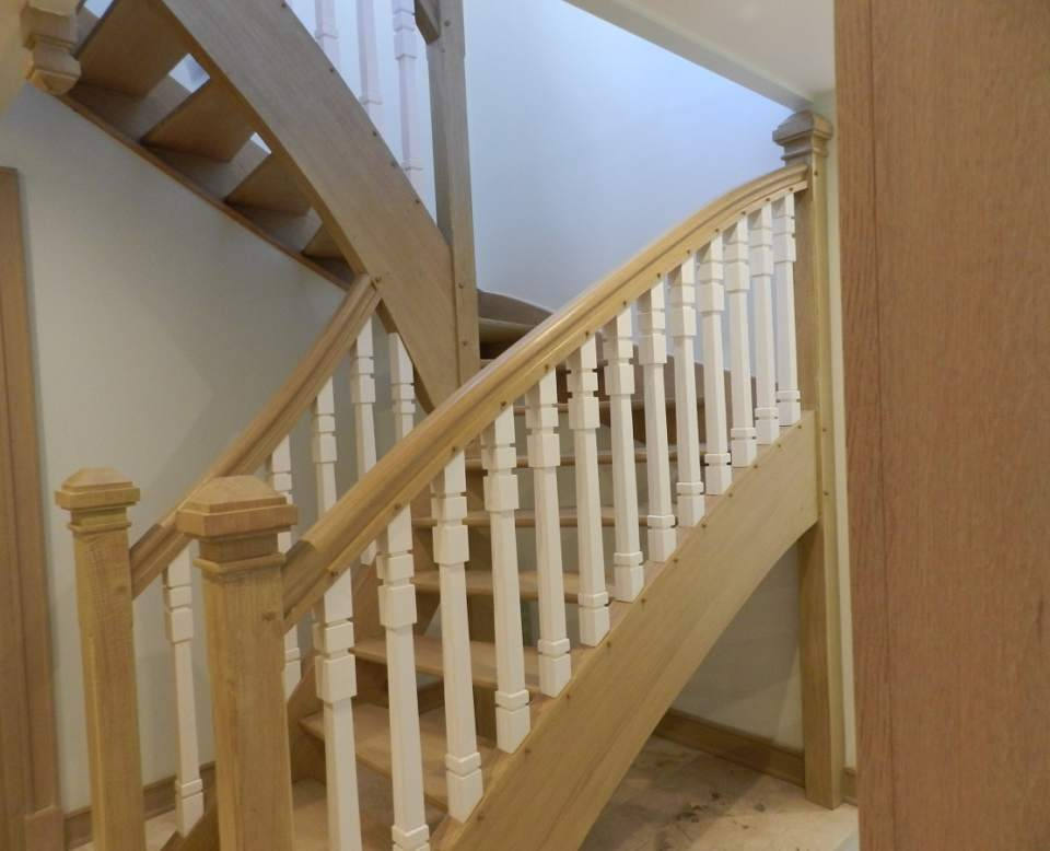 escalier bois menuiserie