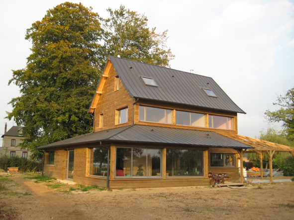 Construction de maison passive en haute normandie 76 for Construction maison en bois haute normandie
